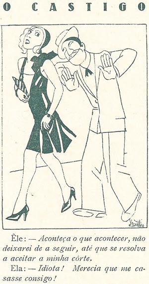 Civilização Magazine, The Punishment, 1930