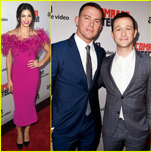 Channing Tatum Gets Support from Wife Jenna Dewan at 'Comrade Detective' Premiere!