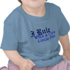 I Rule With a CuteLittle Fist zazzle_shirt