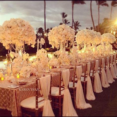 28 Amazing Wedding Table Arrangements