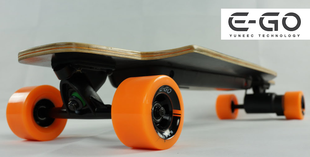 The EGO CRUISER, by Yuneec Technology at the CES 2014  Longboardism