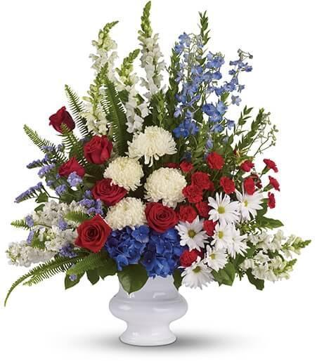 Funeral Flowers for Veterans