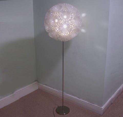 Lámparas-de-plástico-reciclado,Sarah-Turner,diseño,iluminacion,decoracion,interiores