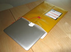 Carrying case for the MacBook Air