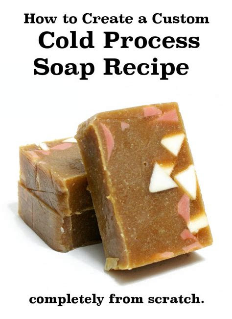 cold process soap recipe