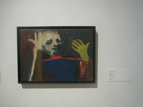 Figure, c. 1956-57, Oil on Canvas, Bruce McCaw, Oakland Museum of California _ 9486