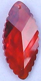 Carved_Facted_Leaf_CZ_Orange_Stones_China_Wholesale_Supplier