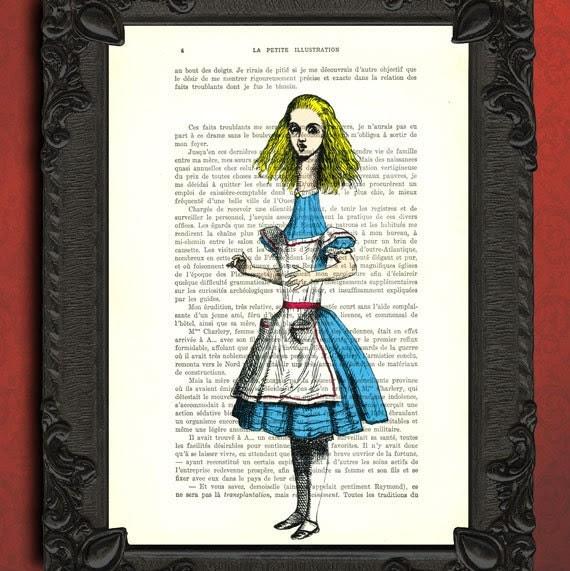 alice in wonderland print alice in wonderland by MadameMemento