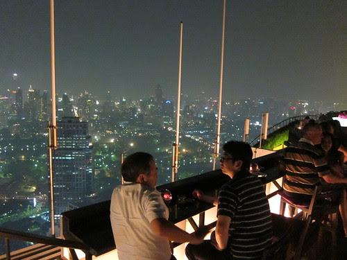 Vertigo Bar, Banyan Tree hotel