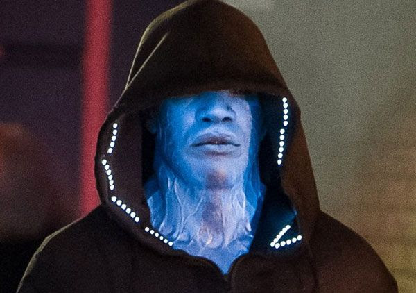 Electro is Spidey's newest foe in THE AMAZING SPIDER-MAN 2.