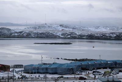 La población de Iqaluit, en el Ártico canadiense