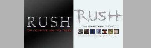Rush lança duas coletâneas digitais