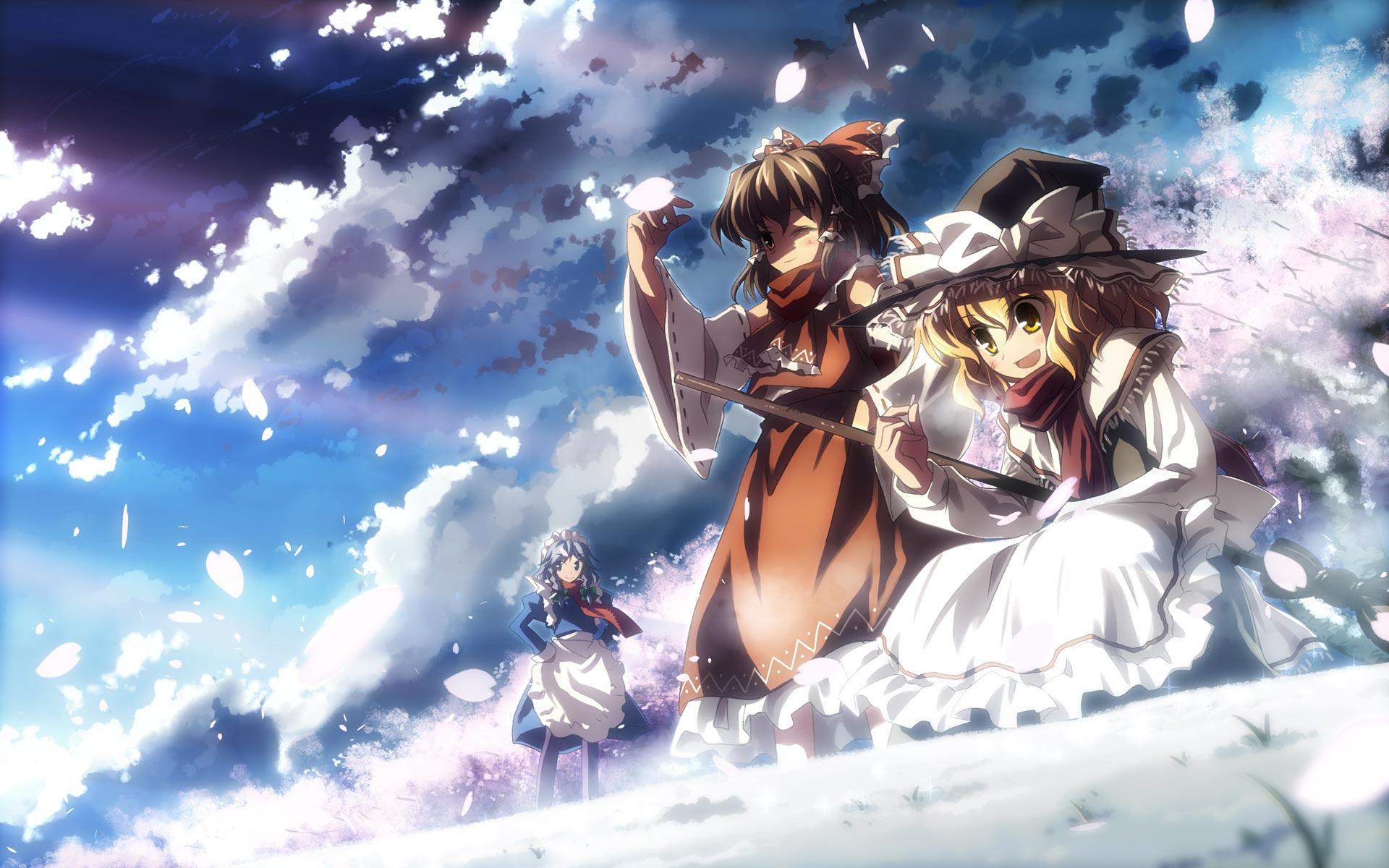 Touhou Higher Resolution Wallpaper Touhou Topics Anime Wallpapers