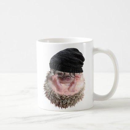 Nerdy Cute HedgeHog Mug