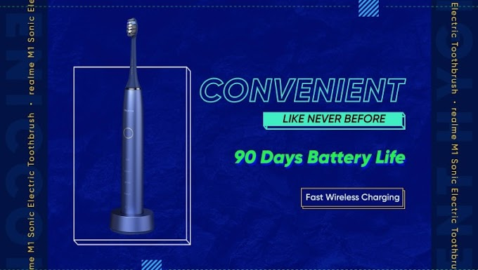 Realme M1 Sonic Electric Toothbrush launching on September 3 in India