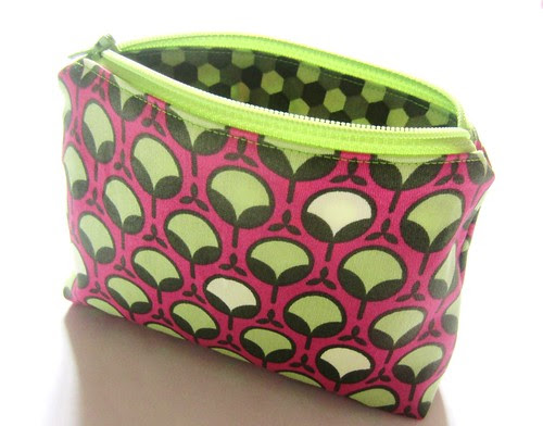 makeup pouch unzipped