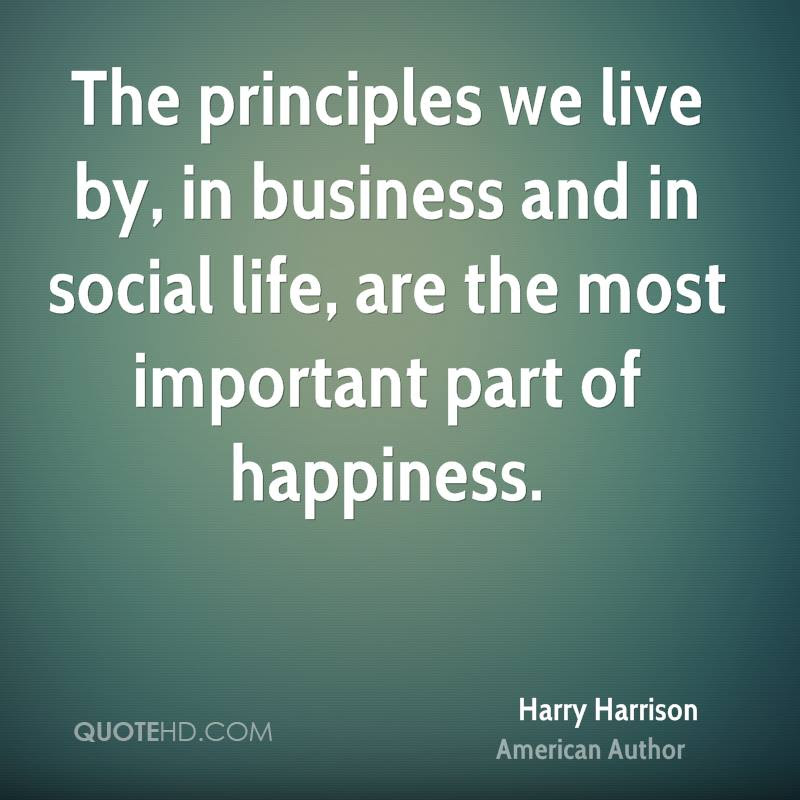 Harry Harrison Happiness Quotes Quotehd