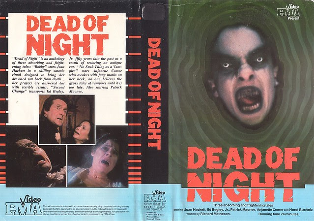 DEAD OF NIGHT (VHS Box Art)