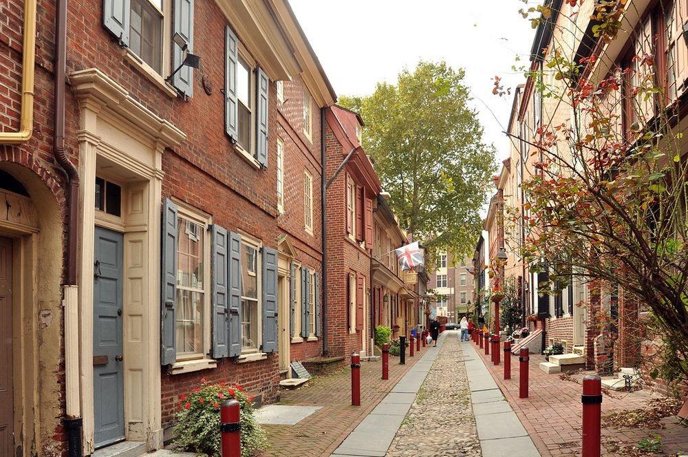 perierga.gr - Elfreths alley: Ο παλιότερος δρόμος της Αμερικής
