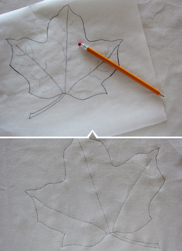 tracing the shape