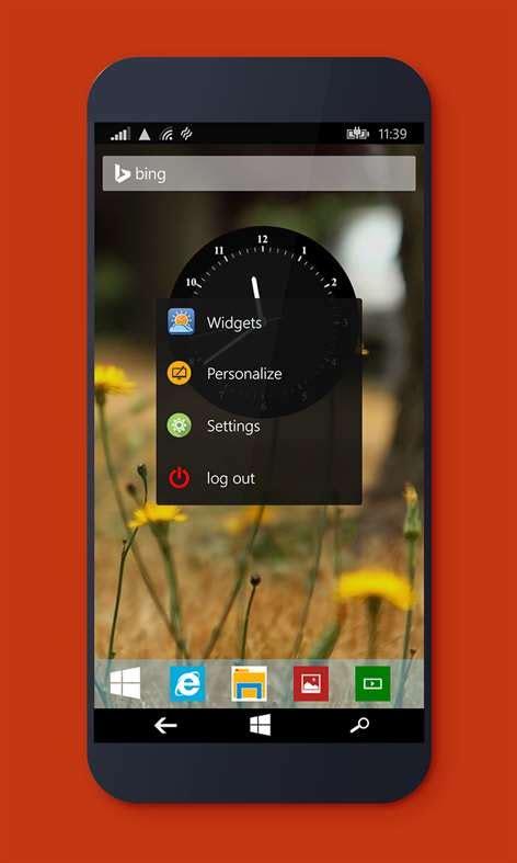 desktop launcher  windows