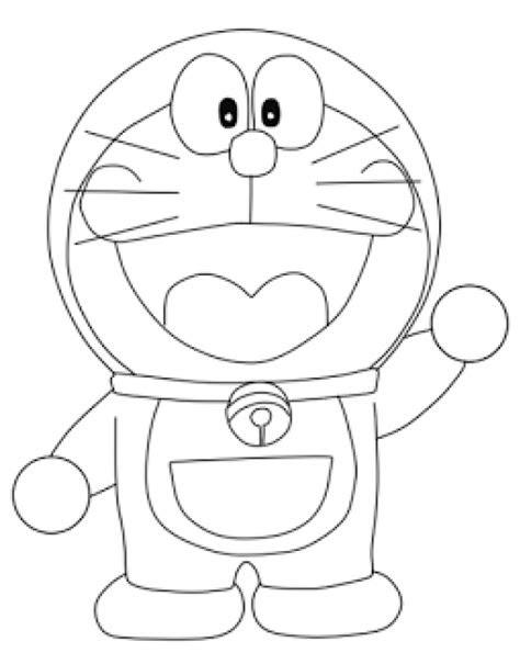 contoh gambar karikatur doraemon
