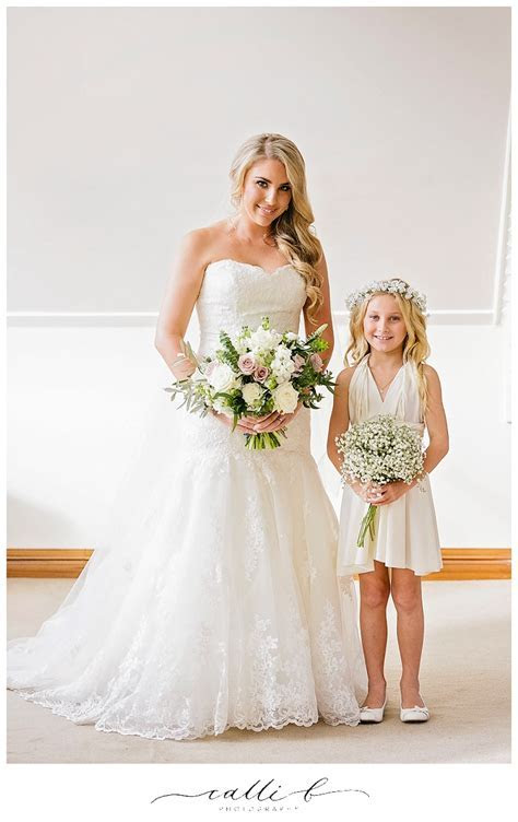 Flower Girls Page boy wedding flowers for Sunshine Coast
