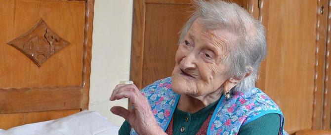 I 117 anni della signora Emma: è italiana la donna più longeva al mondo