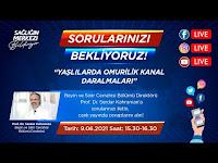 Yaşlılarda Omurilik Kanal Daralmaları - Prof. Dr. Serdar Kahraman - CANLI YAYIN - Anadolu Sağlık Merkezi