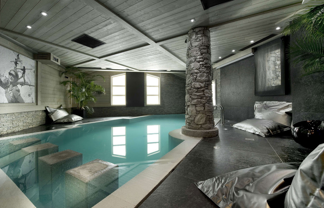 Attractive Tips and Ideas to Maintain Indoor Luxury Pools for