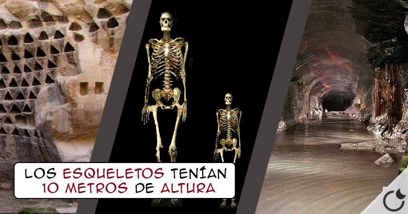 Resultado de imagen de GIGANTES REALES de 10m son ENCONTRADOS en TITÁNICAS galerías de Rumanía