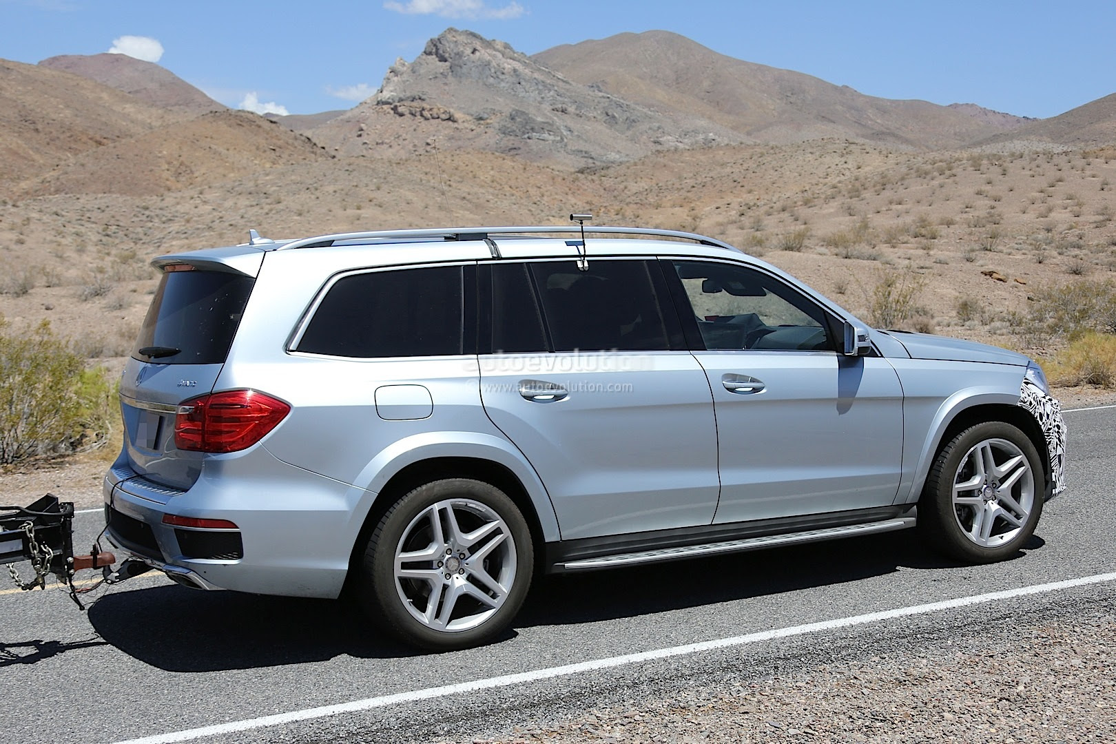 2016 Mercedes-Benz GL Facelift Spied Testing in the US ...