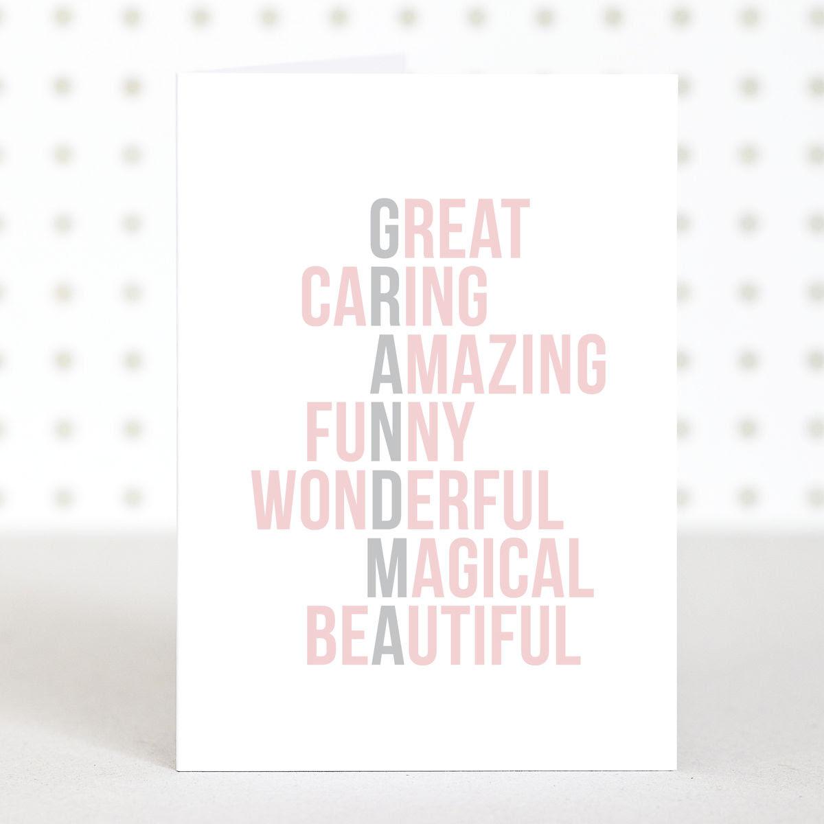 Birthday Card Ideas For Grandma