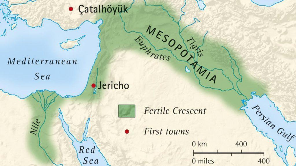 Mesopotamia Not A