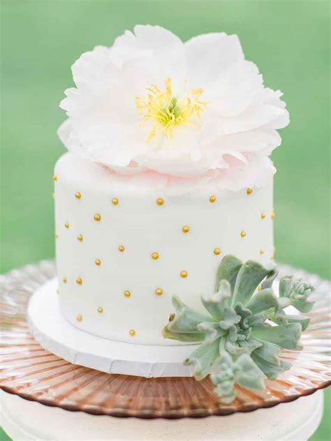 Single Tier Wedding Cakes