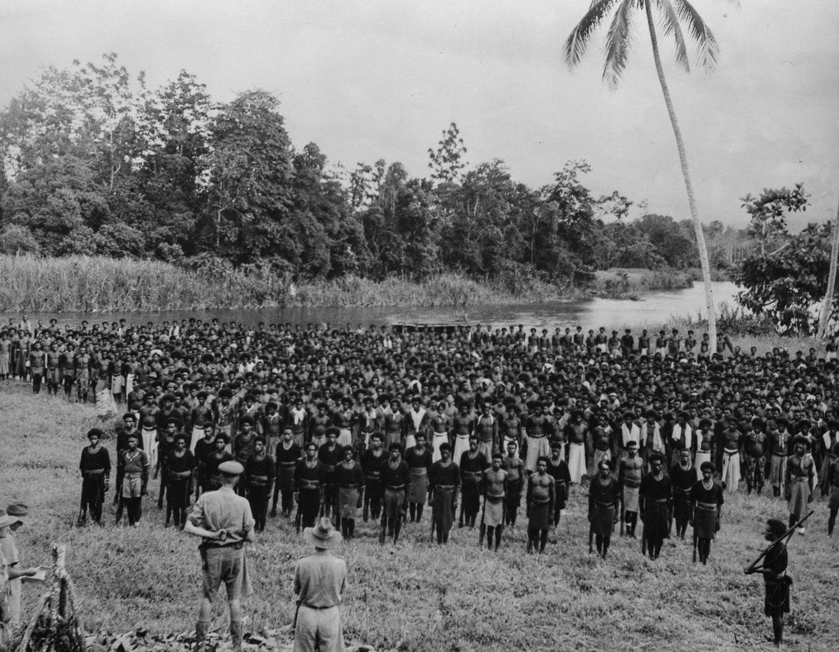 Os povos indígenas de Papua Nova Guiné salvaram centenas de soldados feridos na Segunda Guerra Mundial 14