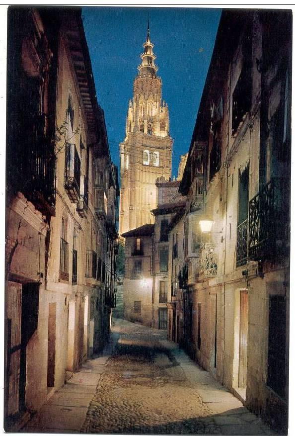 Calle de Santa Isabel a mediados del siglo XX.