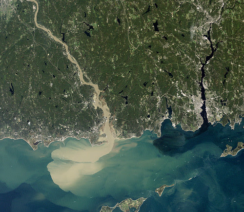 Sediment Spews from Connecticut River by NASA Goddard Photo and Video