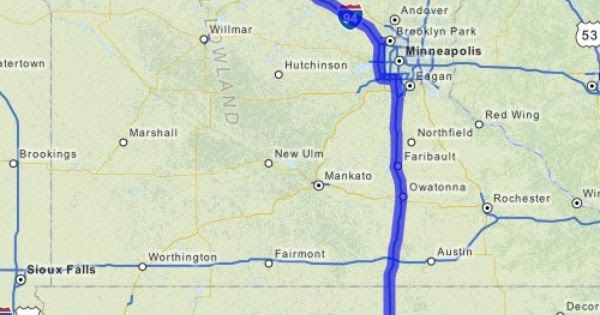 Driving Directions From Clarksville Iowa To Barrett