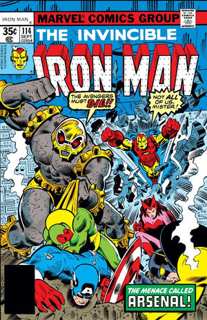 Iron Man Vol 1 114