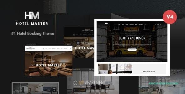Hotel Master v4.00 - Hotel Booking WordPress Theme