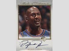 Top Michael Jordan Washington Wizards Autograph Cards
