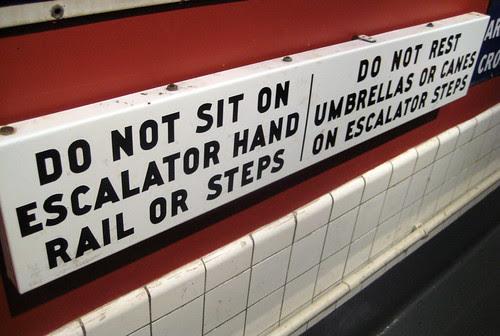 Old Escalator Rules