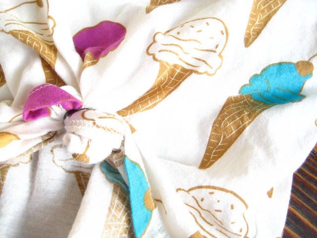 ice cream crop top