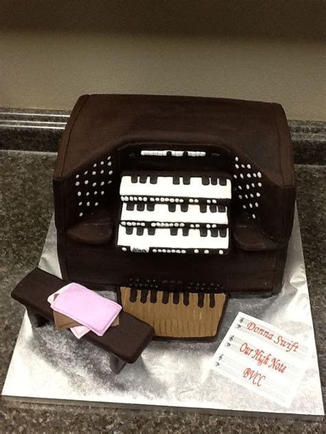 Church Organ Cake   Tiffany's for all Occasions/Cake