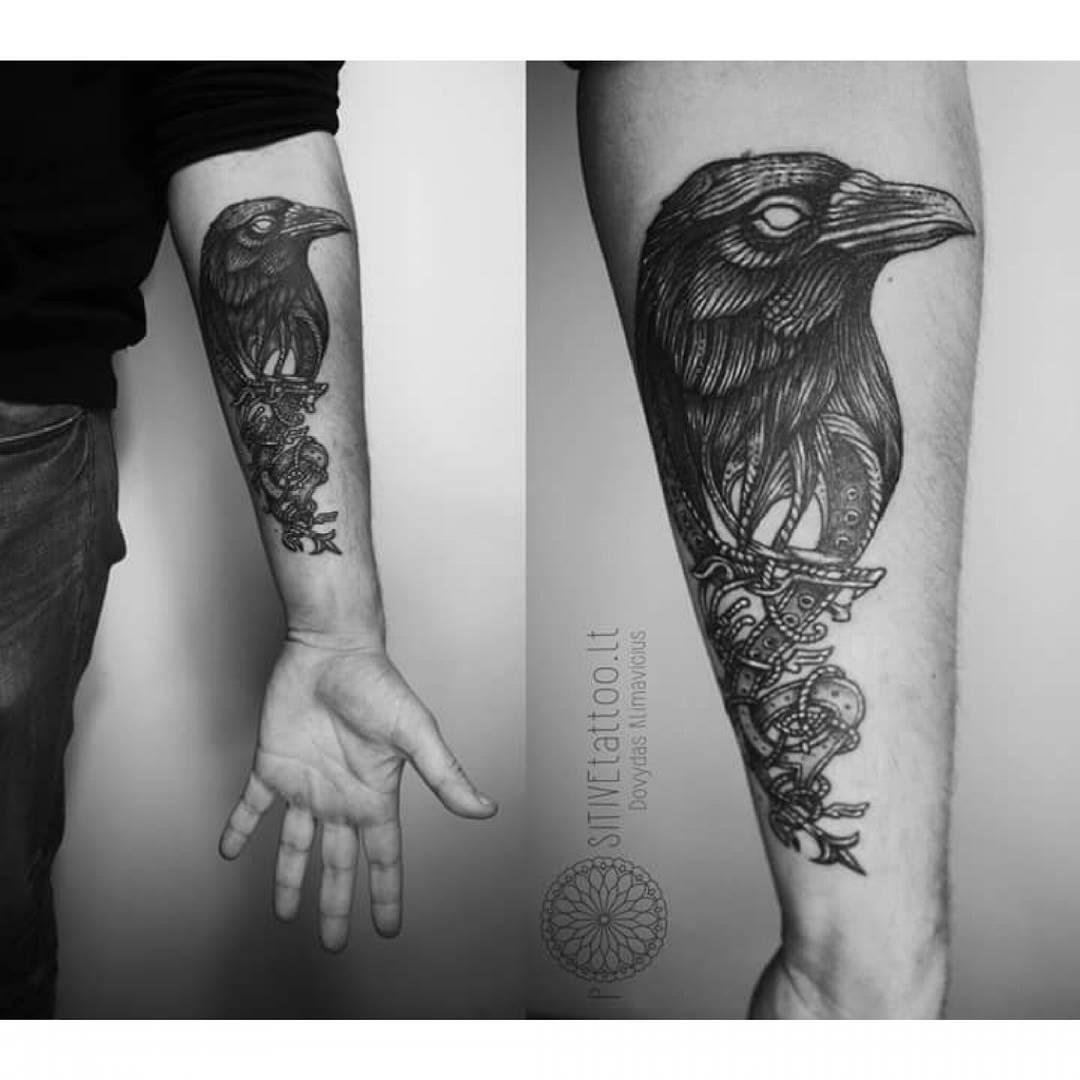 Crow Tattoos Best Tattoo Ideas Gallery