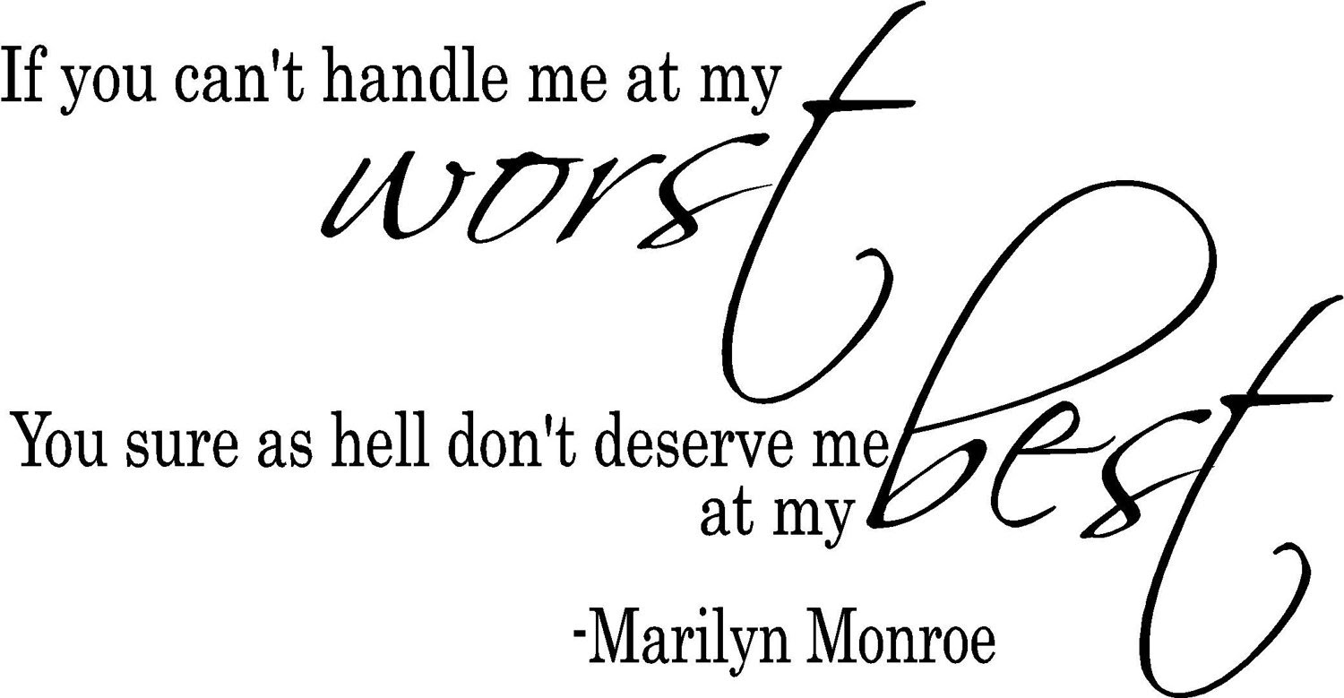 Quotes About Handle Me 91 Quotes