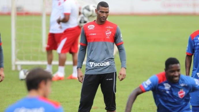 Edson, goleiro do Vila Nova (Foto: Marcello Dantas/O Popular)