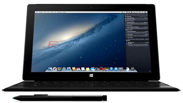 Surface Pro OS X