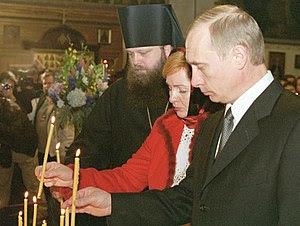 NEW YORK CITY. President Vladimir Putin and hi...